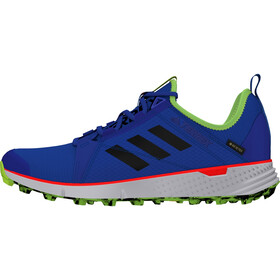 adidas TERREX Speed Gore-Tex Trail Running Shoes Men, glory blue/core black/signal green